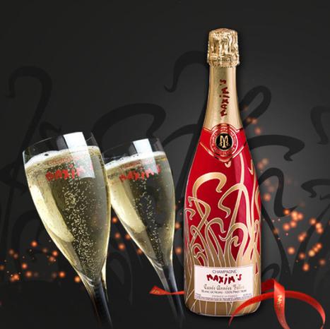 Faites briller votre table de fête avec le champagne Maxim's | Champagne du siècle 21 | Scoop.it