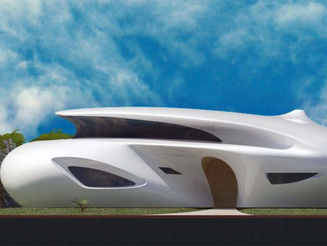 Biomorphic House by Pavie Architects & Design | Digital Sustainability | Scoop.it