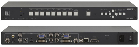 Nuevo escalador y conmutador digital ProScale VP-790 con 8 entradas de Kramer | La Industria del Entretenimiento en Casa | Scoop.it