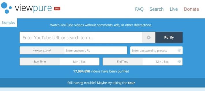 ViewPure. Les vidéos de Youtube et seulement les vidéos | TIC et TICE mais... en français | Scoop.it