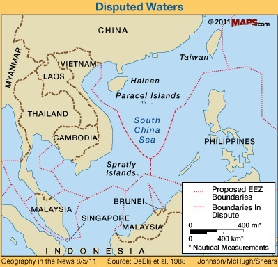 didjuno? the south china sea boils again | Geography in the News | Scoop.it