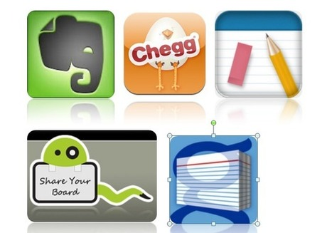 Five Essential Mobile Apps for Students | teaching with technology | Scoop.it