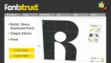 FontStruct : pour créer vos propres polices de caractères | Ce qui m'intéresse | Scoop.it