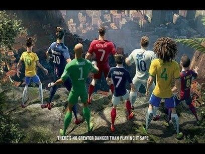 Nike Last World Cup Commercial 2014 ft. Cristiano Ronaldo, Neymar Jr., Rooney, Ibrahimović, Iniesta | Naturally Healthy | Scoop.it