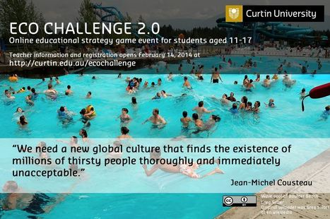 Curtin Teaching and Learning - Australian organisers of Eco Challenge 2.0 | Mr Tony's Geography Stuff | Scoop.it