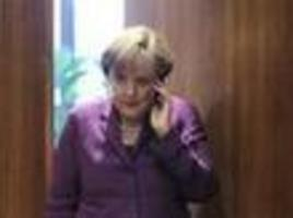 Germany says obama ESPIONAGE bugged Merkel's phone