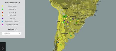 El mapa de 183 conflictos de los pueblos originarios - Revista El Federal   Espacios Multiactorales   Scoop.it