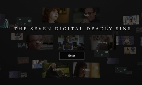 The seven digital deadly sins –interactive | Tracking Transmedia | Scoop.it