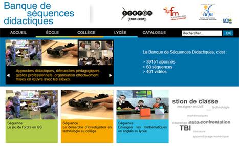 Banque de Séquences didactiques, inscription gratuite | | Math SN Denis | Scoop.it