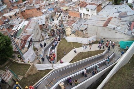 Colombian City Inaugurates Giant Outdoor Escalator | Strange days indeed... | Scoop.it