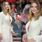 Photos : Elizabeth Olsen sexy pour la premièere de Captain America : Civil War | Radio Planète-Eléa | Scoop.it