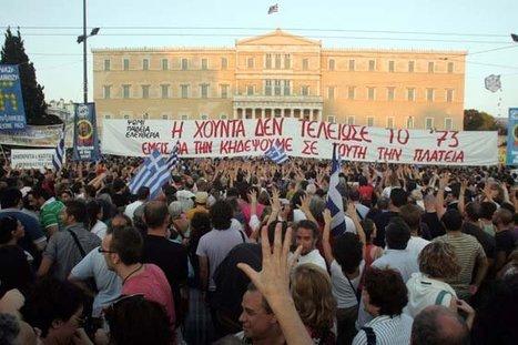 Grecia, en huelga contra la austeridad durante la cumbre europea   Un poco del mundo para Colombia   Scoop.it