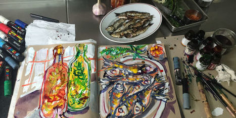 Les sardines grillées d'Iñaki Aizpitarte   Cote-basque way of life   Scoop.it