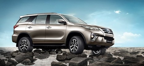 2017 Toyota Fortuner launched in India at Rs 25.92 lakh | Maxabout Cars | Scoop.it