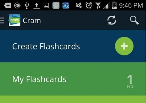 3 Best Free Flashcard Apps for Students | Edudemic | Free Resources Higher Ed | Scoop.it