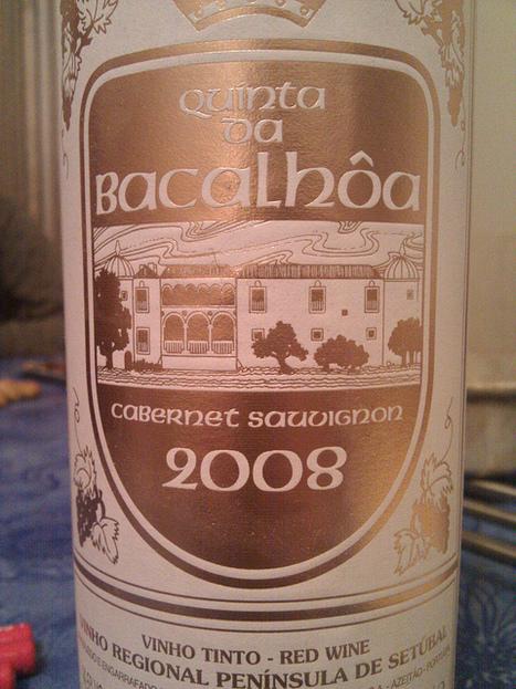 #vinhoDaNoite 2 Quinta da Bacalhoa Cabernet Sauvignon 2008 tinto   Flickr - Photo Sharing!   #vinhodanoite   Scoop.it