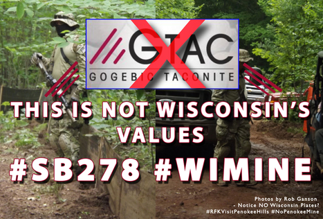 Al Gedicks: It's GTAC, not mine protesters, who are eco-terrorists : #WIMINE #NoPenokeeMine #BadRiver #IdleNoMore | IDLE NO MORE WISCONSIN | Scoop.it