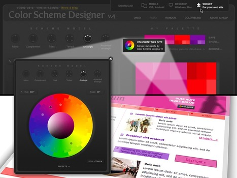 Color Scheme Designer 3 | Visual Design and Presentation in Higher Edcuation | Scoop.it