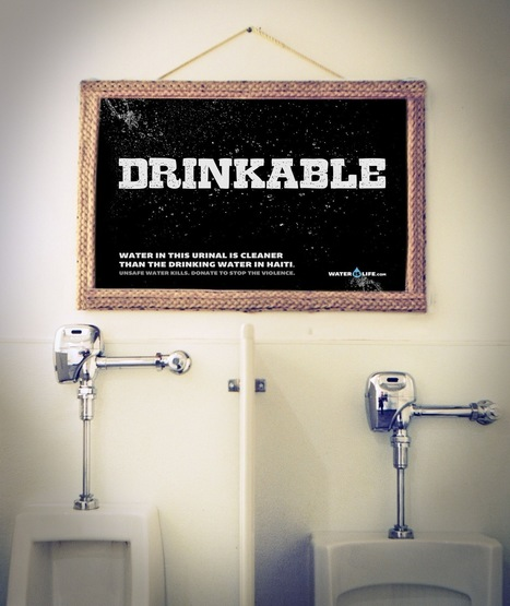 Water is Life: Drinkable | Unconventional and Viral Marketing | Scoop.it