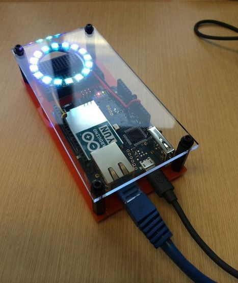 Internet Of Things NeoPixel. Web Service api to neopixel. The Arduino Yun has two network interfaces and can serve as an access point. You can control the neopixel through the local lan/wifi or thr... | Raspberry Pi | Scoop.it