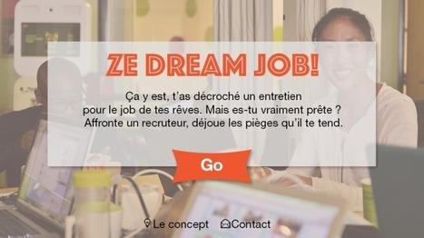 Ze Dream Job : le serious game au féminin   Gamification et Serious Game   Scoop.it