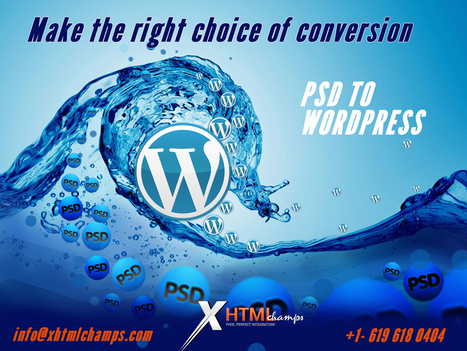 An unmatched WordPress website development services from an unparalleled web design and development company - WhaTech | mydesk | Scoop.it