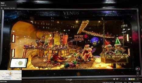 See inside NYC holiday windows with Google Maps - New York Daily News   Location Is Everywhere   Scoop.it