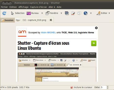 Shutter - Capture d'écran sous Linux Ubuntu | TICE, Web 2.0, logiciels libres | Scoop.it