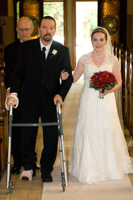 Walk Down Aisle Was Extra Special For Bride Whose Dad Overcame A Stroke ... - Huffington Post | Other Posts | Scoop.it