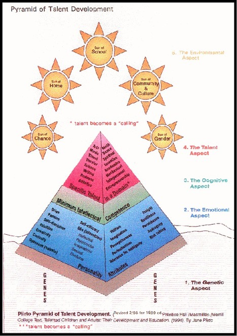 THE PIIRTO PYRAMID OF TALENT DEVELOPMENT | School Leadership, Leadership, in General, Tools and Resources, Advice and humor | Scoop.it