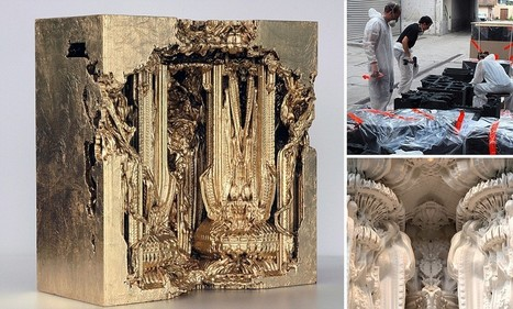 The stunning room that looks like the intricate interior of a cathedral which ... - Daily Mail | 3D Print Architecture | Scoop.it