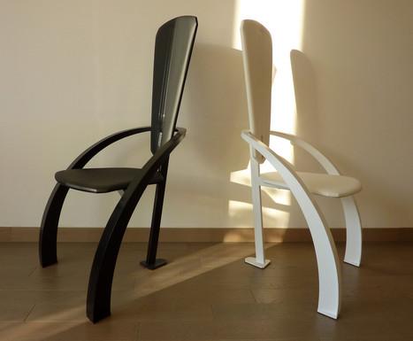 Chaises atypiques | Escalier Design Mobilier Contemporain de style Art Nouveau | Scoop.it