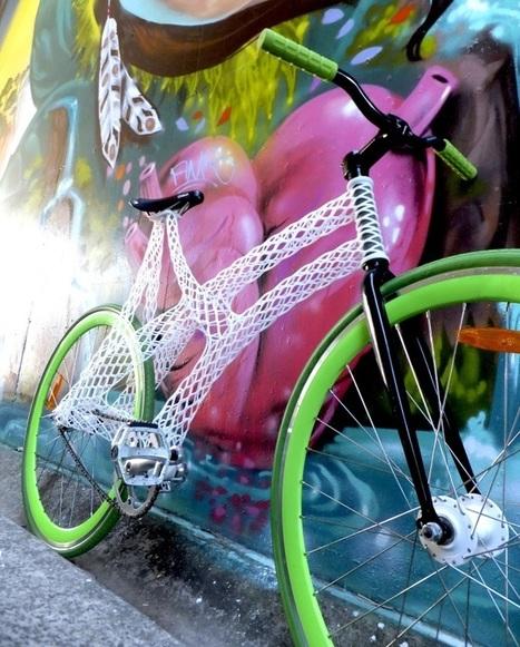 Meet designer James Novak and his stunning 3D printed bike frame | Communication design | Scoop.it