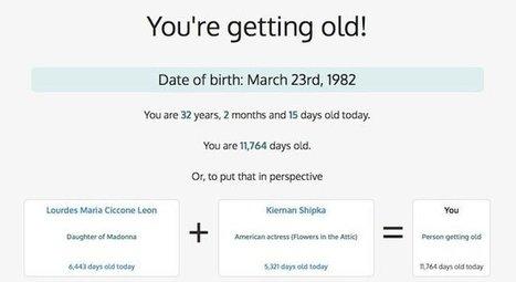 Vous devenez vieux ! - Korben | Au fil du Web | Scoop.it