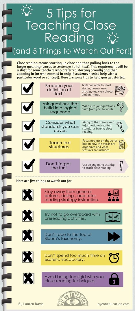 5 Tips to for an Effective Reading Instruction   common core education   Scoop.it