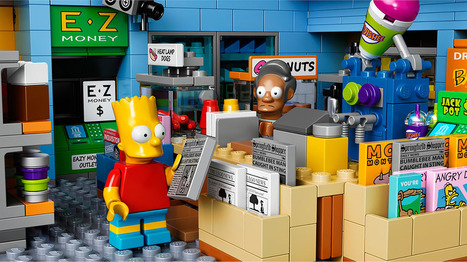 LEGO lanzará el Kwik-E-Mart de Los Simpson en mayo | Paco Prieto | Scoop.it