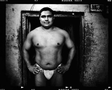 Kushti - Indian Wrestling | Photographer: Sanjit Das | BLACK AND WHITE | Scoop.it