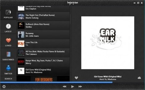 Hypegram, The Hype Machine Desktop Music Player   hypegram   Scoop.it