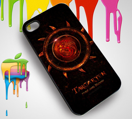 Game of Thrones clan family Targaryen Custom iPhone 4 or 4S Case   Customizable Clothing and Accessories   Scoop.it