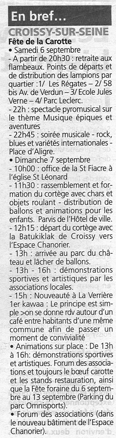 Ce week c'est la fête | Croissy sur Seine | Scoop.it