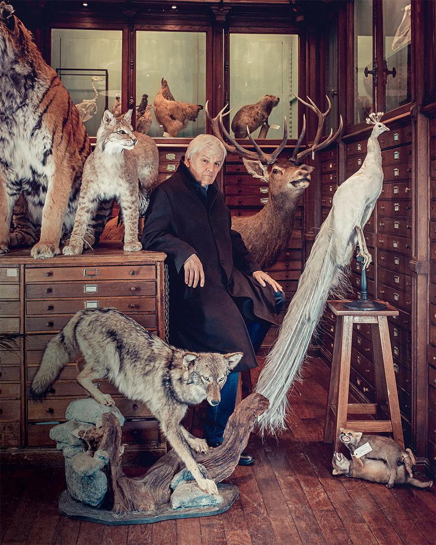"""Jacques Perrin, réalisateur de """"Les Saisons"""" : """"En parlant des animaux, on parle de nous"""" - Télérama"""