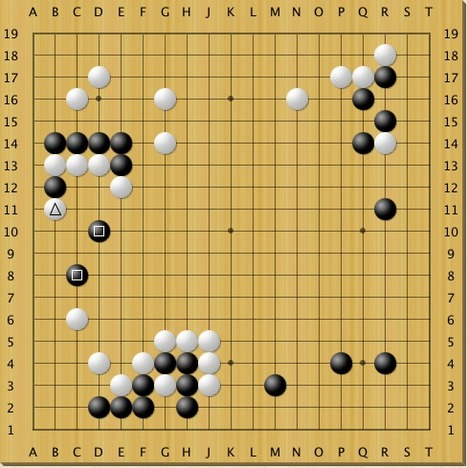 Problem - best move | Go: The Ultimate Game | Scoop.it