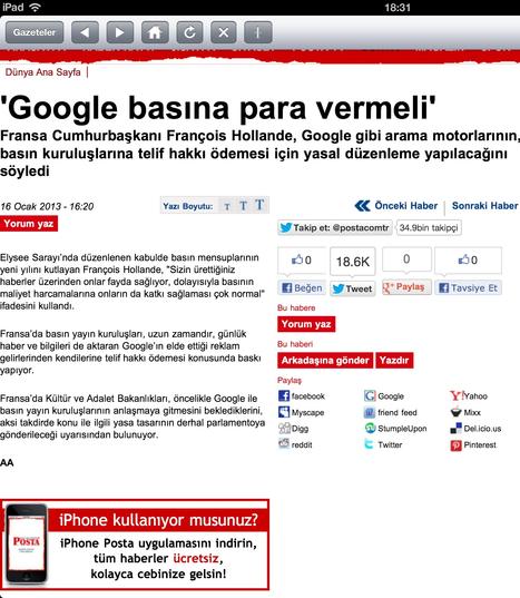 Google bana para vermeli | haber toplantısı | Scoop.it