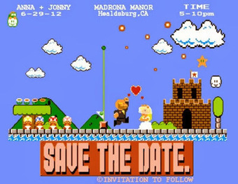 Geeky Wedding Invitations | social studies | Scoop.it