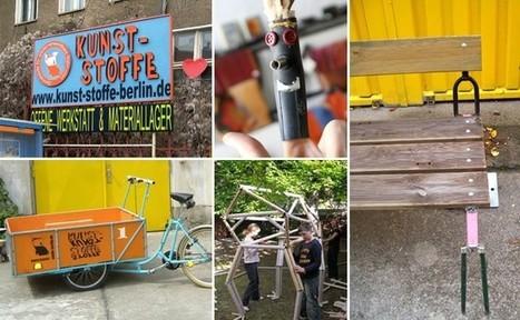 KUNST-STOFFE - Zentralstelle für wiederverwendbare Materialien - e.V. | Recycling Design | Scoop.it