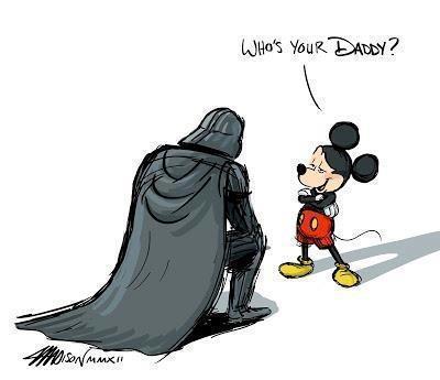 Disney compra Lucas Film e scoppia la parodia di Guerre Stellari | InTime - Social Media Magazine | Scoop.it