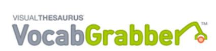 VocabGrabber : Thinkmap Visual Thesaurus | 6-Traits Resources | Scoop.it
