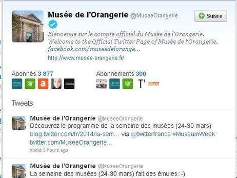 La semaine des musées sur Twitter | web marketing | Scoop.it