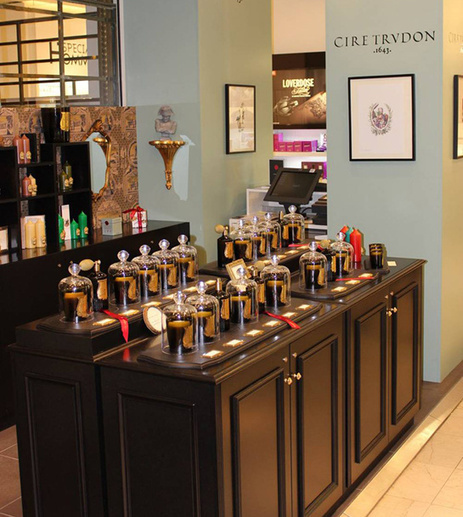 Le pop-up store Cire Trudon aux Galeries Lafayette | Retail Industry | Scoop.it