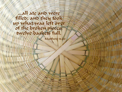 Matthew 14.20 Poster - ...all ate and were filled... | Resources for Catholic Faith Education | Scoop.it